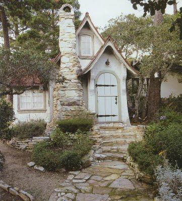 Tiny seaside cottage