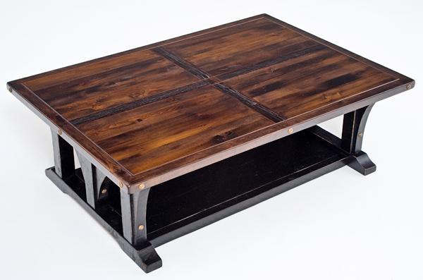 Reclaimed Wood Coffee Table woodland creek