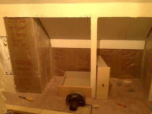 closet demo