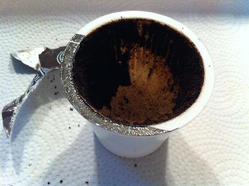 empty k-cup