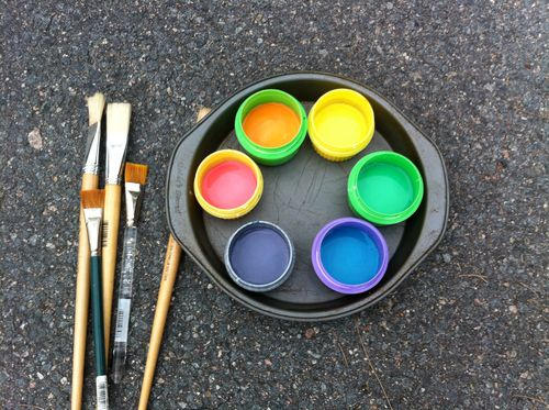 chalk paint palette