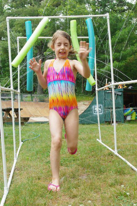 DIY kids sprinkler