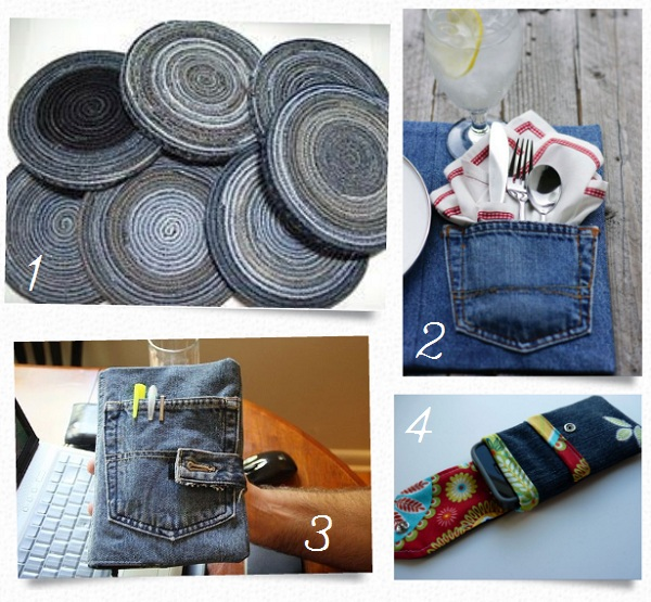 10 Easy Projects For Those Old Jeans Round Up Entirely