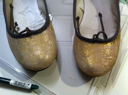 glitterize shoes