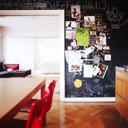 Chalkboard dining room