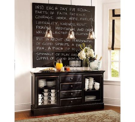 chalkboard tiles pottery barn