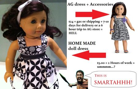 sew american girl doll clothes