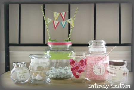Glass jar crafts