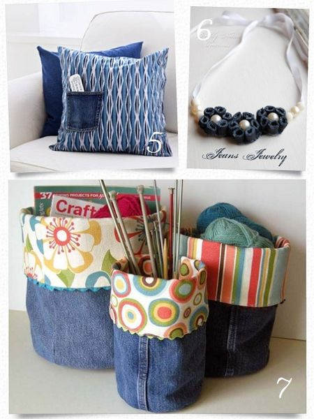 Jeans Crafts