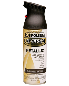 Rustoleum oil rubben bronze spray paint