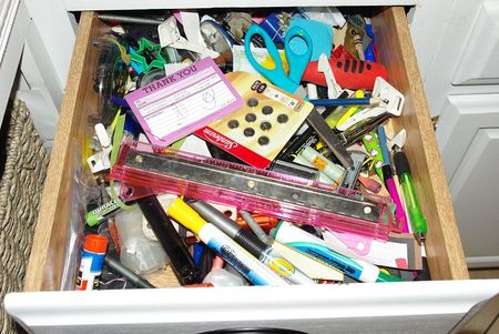 This is my junk drawer