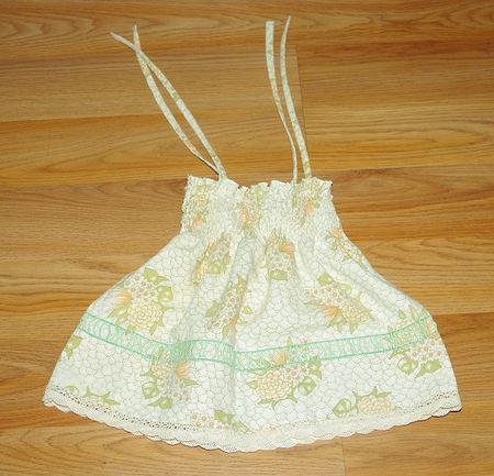 Newborn pillowcase dress