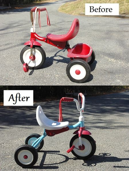 Retro revamp tricycle