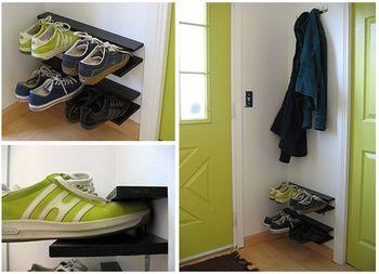Easy shoe rack
