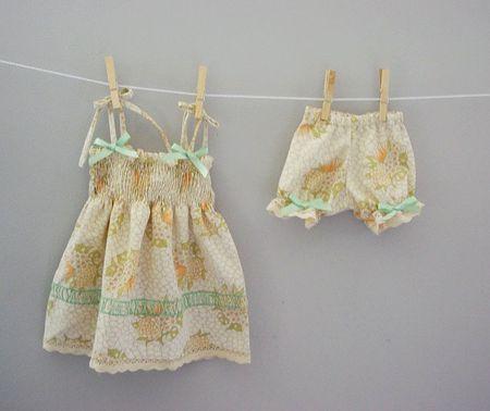 Pillowcase dress for babies