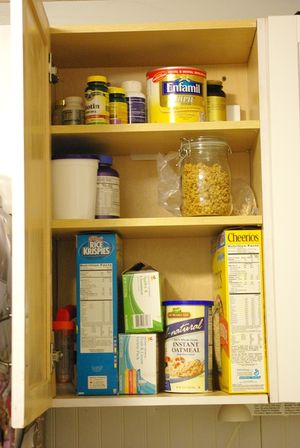 Cereal cabinet
