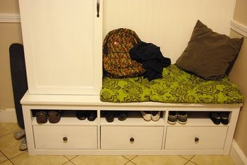 Mudroom clutter