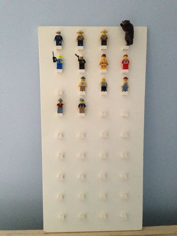 Lego Mini Fig Display