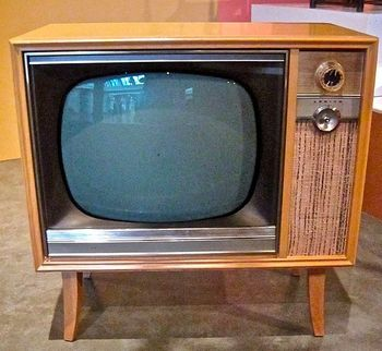 Old tube tv